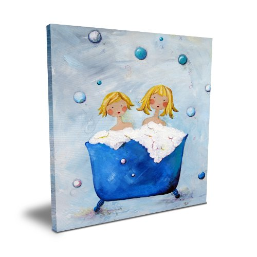 "Cici Art Factory Double Bubble (Blonde), 16""x 16"""