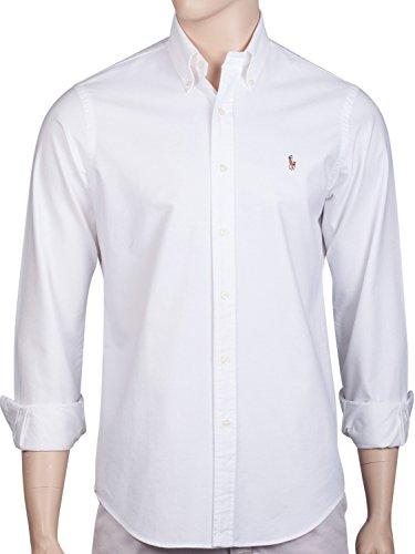 polo-by-ralph-lauren-para-hombre-button-down-camisa-oxford-estandar-fit-azul-blanco-medium