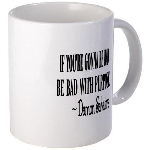 Cafepress Damon: Be Bad With Purpose Mug - Standard
