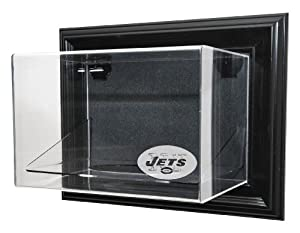 New York Jets Football Case-Up Display, Black by Caseworks