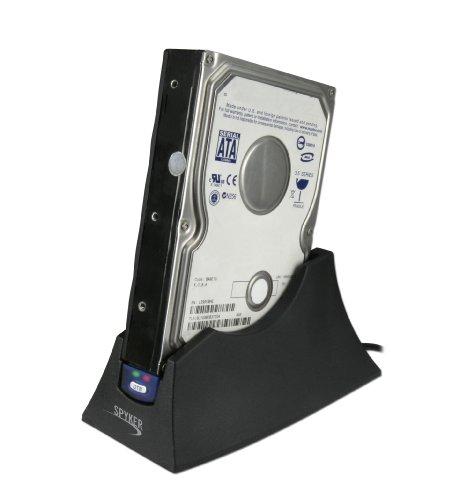 """Spyker DOCK-SPY-2NFREE Station d'accueil pour Disque dur SATA 3,5"""" / 2,5"""" USB V3.0 Noir"""