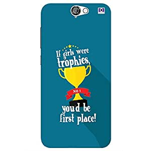 If Girls Were Trophies - Mobile Back Case Cover For HTC One A9