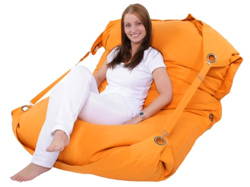 SISK04 Sitzsack 200x140cm orange