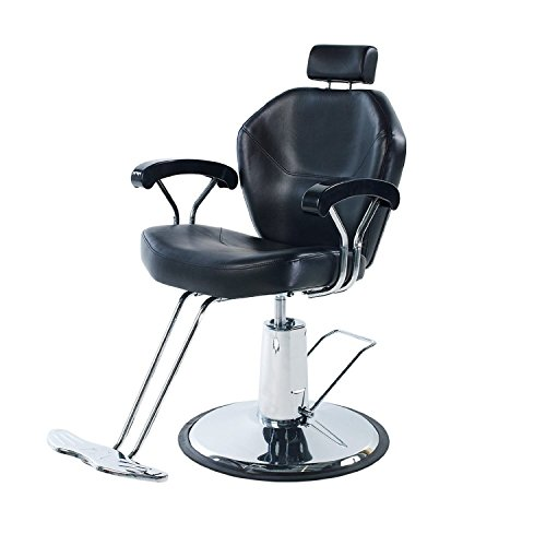 Eastmagic professional black hydraulic styling barber for Stylist equipment