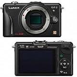 Panasonic Lumix DMC-GF2KBODY 12.1 MP Compact System Camera Body with 3