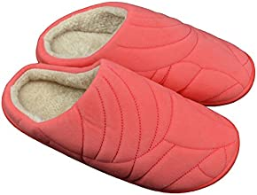Home Furnishing Suede Warm Indoor Slippers