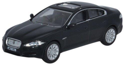 oxford-diecast-76xf004-jaguar-xf-saloon-ultimate-black-by-oxford-diecast