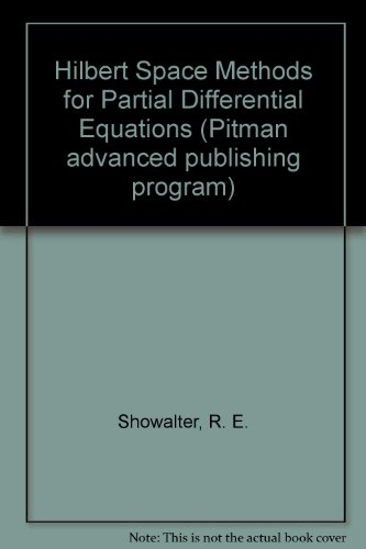 Hilbert Space Methods for Partial Differential Equations