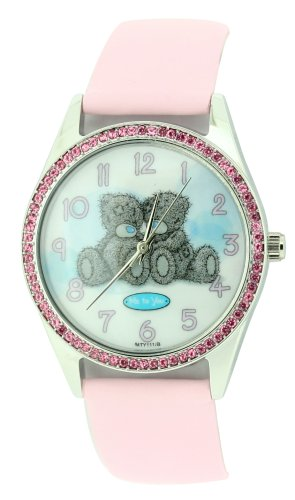 Me To You White and Pink Photo Dial Ladies Watch - MTY111/B