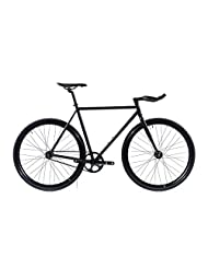 State Bicycle Core Model Fixed Gear Bicycle - Matte Black 5.0, 46 cm