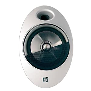 """KEF CI400WH Wall Mount Speaker with 4"""" Uni-Q Driver"""