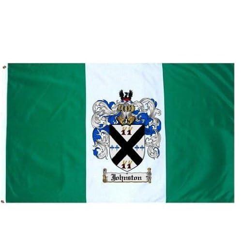 Amazon.com: Johnston Family Crest / Coat of Arms Flag