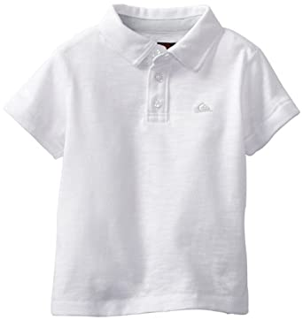 Quiksilver Baby-boys Infant Gragg Polo, White, 6-9 Months