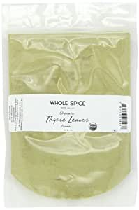 Whole Spice Thyme Leaves Powder Organic, 4 Ounce