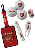 Arsenal Fc Premium Golf Gift Set