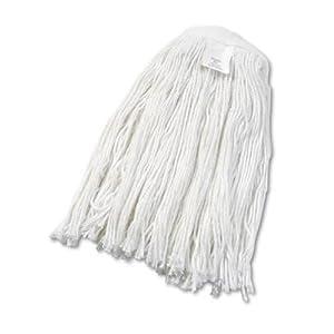 UNISAN Cut-End Wet Mop Head, Rayon, #24 Size, White (2024R)