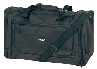 "** Black 20 "" Cabin Gym Travel Hi-tec Flight Bag Holdall Carry On Size from hitec ht-1250/black"