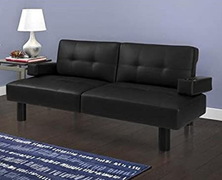 Mainstays Connectrix Futon, Black