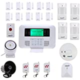 Fortress Security Store (TM) GSM-F Wireless Cellular GSM Home Security Alarm System DIY Kit with Auto Dial