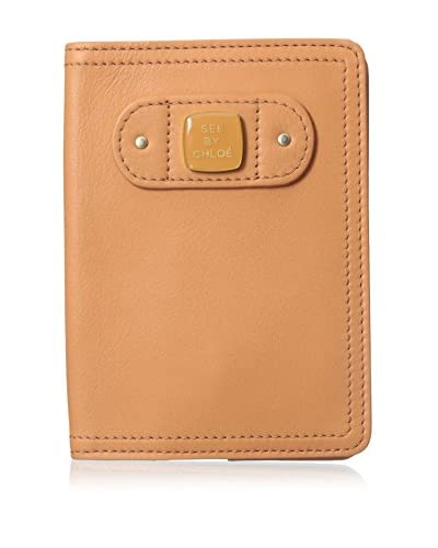 See by Chloé Women's Leather Wallet, Apricot