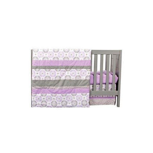 Trend Lab Florence 3 Piece Crib Bedding Set - 1