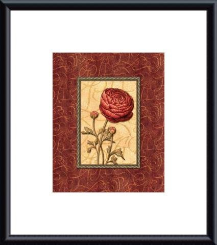Red Passion I - Mini, Art Poster by Audrey Charlene