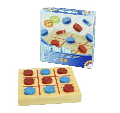 Mini Wooden Tic Tac Toe - 1