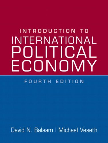 Introduction to International Political Economy (4th...