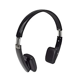 stardrift Folding Bluetooth Headphones Noise Cancelling Headset Over Ear with Mic,3.5mm Audio In,Lightweight,Super Comfortable for iPhone 6 6S 6 Plus 5S 5C Samsung Galaxy Note 5 4 S6 S5 Black