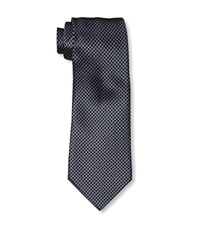 Valentino Men's Patterned Tie, Dark Blue