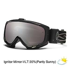 Amazon Com Smith Optics Phenom Turbo Fan Goggle Black