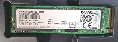 Samsung SM951 MZ-VPV256 – Solid-State-Disk – 256 GB, MZVPV256HDGL-00000