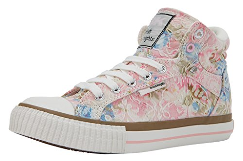 British Knights, Sneaker donna weiß - rosa - blau 40 EU