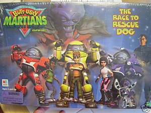 Butt-Ugly Martians: The Race to Rescue Dog: Board Game; Milton Bradley (2001)