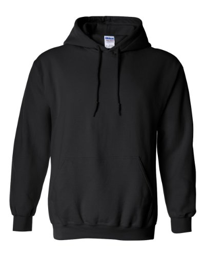 Gildan 18500 / Adult Hooded Sweatshirt-Black 18500 XL