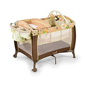 Summer Grow with Me Playard with Changer - Swingin' Safari