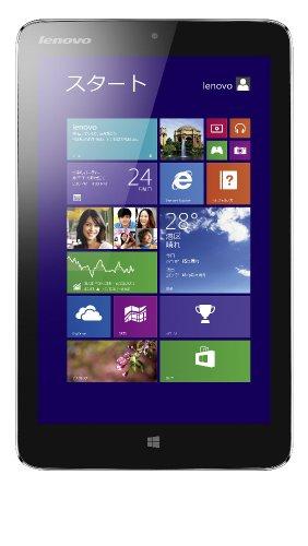 Lenovo IdeaPad Miix2 8 (Atom Z3740/32GB/2GB/Win8.1/8型HD IPS/ブラック/Office Personal) 59404411