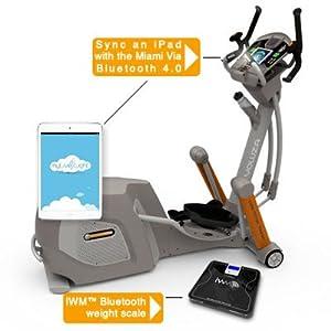 Yowza Fitness Miami Elliptical Trainer Machine by Yowza Fitness