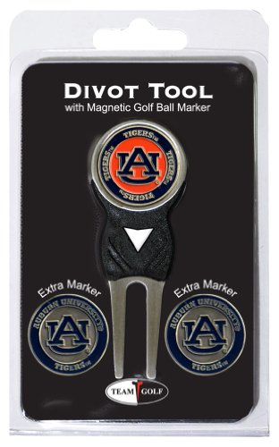 NCAA Auburn Tigers 3 Marker Signature Golf Divot Tool Pack (Golf Divot Tools compare prices)