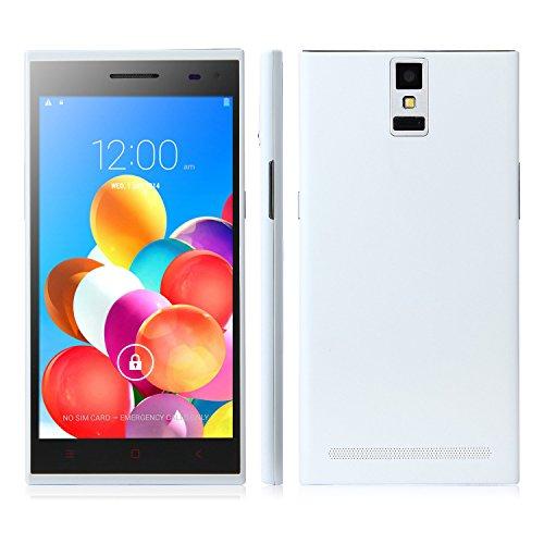 Mijue M880 Smartphone Android 4.4 Mtk6582 1Gb 8Gb 5.5 Inch Qhd Screen Otg White