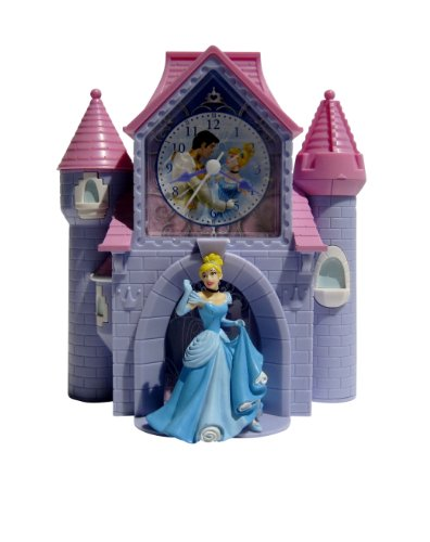 Officially Licensed Disney Cinderella Bank Alarm Clock front-118935