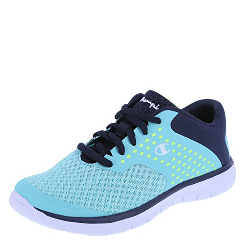 Champion Girls' Turquoise Lime Girls' Gusto Cross Trainer 2.5 Regular (Champion Kids Shoes compare prices)