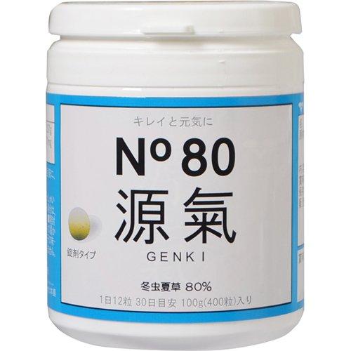 冬虫夏草 No80 源氣 げんき 錠剤タイプ 400粒