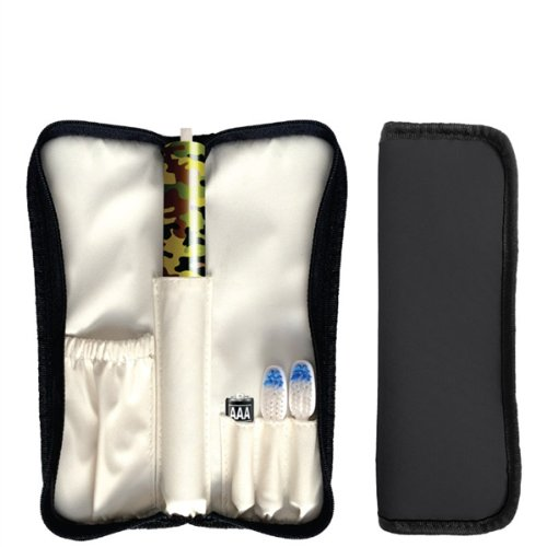 Violife Slim Sonic Toothbrush With Traveler Case (One Size, Camo)