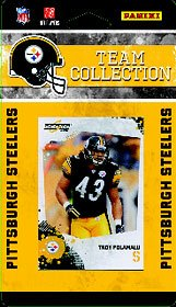 2010 Score Pittsburgh Steelers Team Set of 14 NFL cards with Ben Roethlisberger, Heath Miller & more