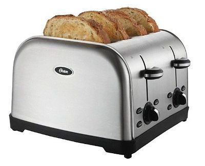 Kitchen Toaster 4 Slice Commercial Restaurant Style Chrome Bread Automatic Bagel (Toster Oven Parts compare prices)