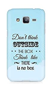 Amez Dont think Outside the Box think like there is no Box Back Cover For Samsung Galaxy J2