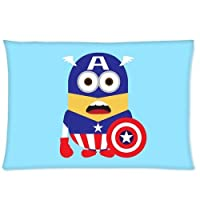 """Standard-Store Custom Cute and Lovely Panda Zippered Pillow Cases Covers Standard Size 20""""x30""""(one side) from Standard-Store"""