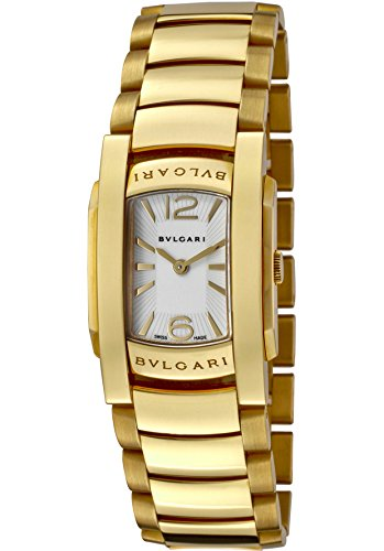 Bulgari Women's Assioma D White Dial 18k Solid Yellow Gold