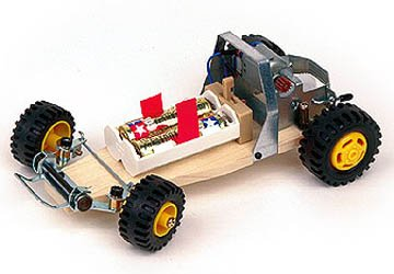 Tamiya Buggy Car Chassis Educational Model Kit